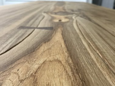 Rough Edge Oak Table