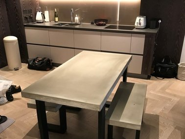 Сoncrete dining table